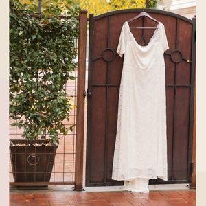Ivory Torrid Wedding Dress